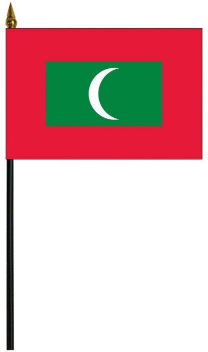 """MRF-46-MALDIVES Maldives 4"""" x 6"""" Staff Mounted Rayon-0"""