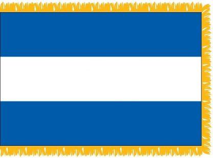 FWI-210-4X6NICARAGUA Nicaragua 4' x 6' Indoor Flag with Pole Sleeve and Fringe-0