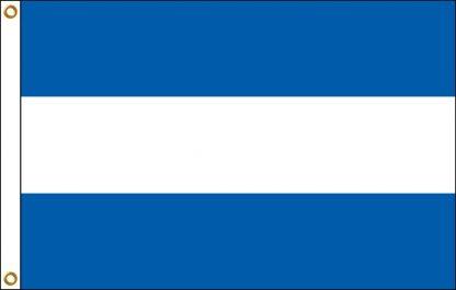 FW-110-5X8NICARAGUA Nicaragua 5' x 8' Outdoor Nylon Flag with Heading and Grommets-0
