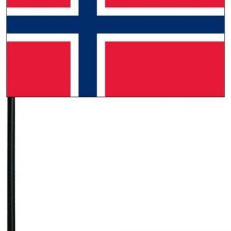 "MRF-46-NORWAY Norway 4"" x 6"" Staff Mounted Rayon-0"