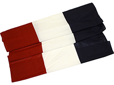 "RB-100 36"" Wide 3-Stripe Cotton Bunting-0"