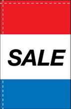 WC-8H-SALE Sale 2.5' x 5' Windchaser Horizontal Message Flag-0