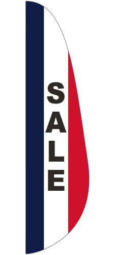 FEF-3X12-SALE Sale 3' x 12' Message Feather Flag-0