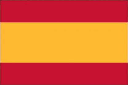 PCF-35B-SPAIN Spain Civil 3' x 5' 68D Polyester Flag with Heading and Grommets-0
