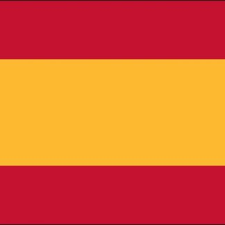 033875 Spain Civil 4' x 6' Outdoor Nylon Flag with Heading and Grommets-0