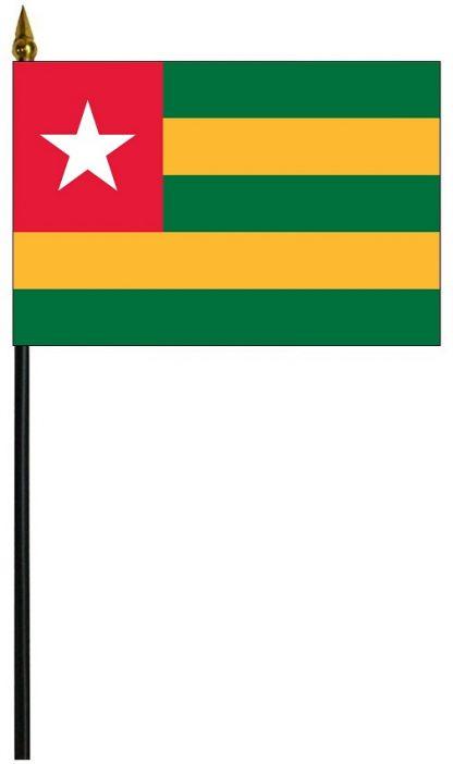"MRF-46-TOGO Togo 4"" x 6"" Staff Mounted Rayon-0"