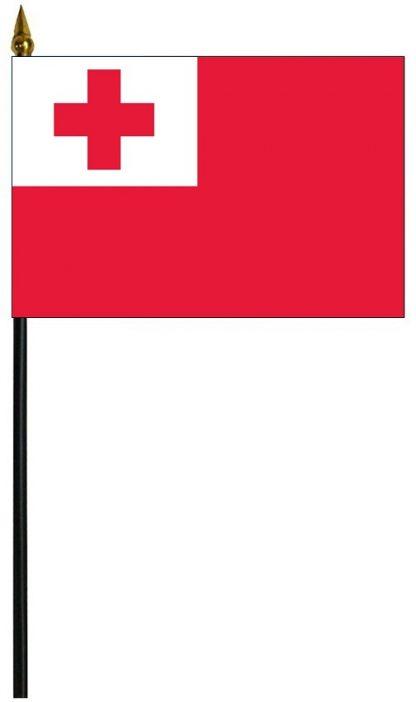 "MRF-46-TONGA Tonga 4"" x 6"" Staff Mounted Rayon-0"