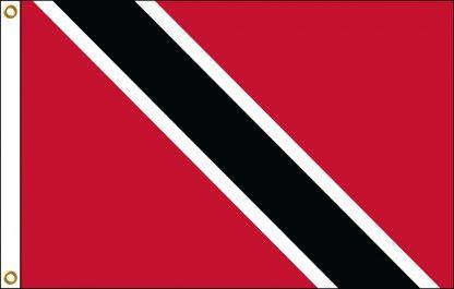 FW-130-4X6TRINTOB Trinidad & Tobago 4' x 6' Outdoor Nylon Flag with Heading and Grommets-0