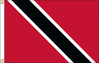 FW-130-3X5TRINTOBAG Trinidad & Tobago 3' x 5' Outdoor Nylon Flag with Heading and Grommets-0