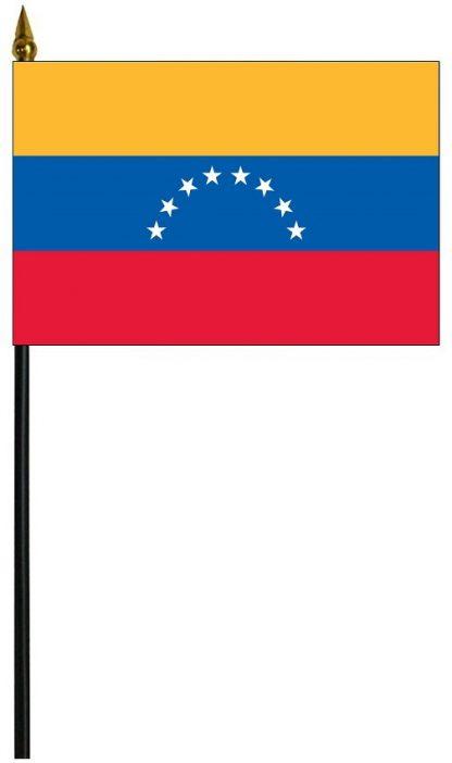 "MRF-46-VENEZUELA Venezuela 4"" x 6"" Staff Mounted Rayon-0"