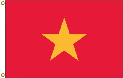 FW-125-3X5VIETNAM Vietnam 3' x 5' Outdoor Nylon Flag with Heading and Grommets-0