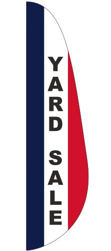 FEF-3X15-YARD Yard Sale 3' x 15' Message Feather Flag-0