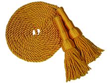 Gold Cord & Tassels