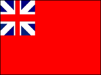 Colonial Red Ensign (British Red Ensign)