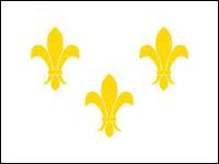 Fleur-De-Lis (White-3)
