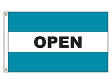 Open - Teal