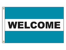 Welcome - Teal
