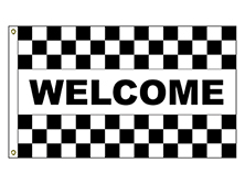 Welcome - Checkered