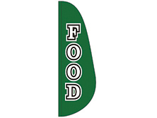 Food Feather Flag