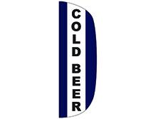 Cold Beer Flutter Feather Flag