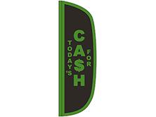 Cash For Flutter Feather Flag
