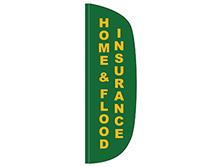 Home & Flood Flutter Feather Flag