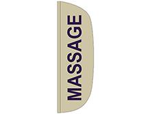 Massage Flutter Feather Flag