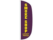 Smoke Shop Flutter Feather Flag