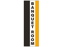 Banquet Room Square Feather Flag