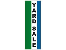 Yard Sale Square Feather Flag