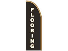 Flooring Half Drop Feather Flag