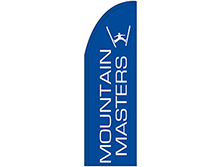Mountain Masters Half Drop Feather Flag