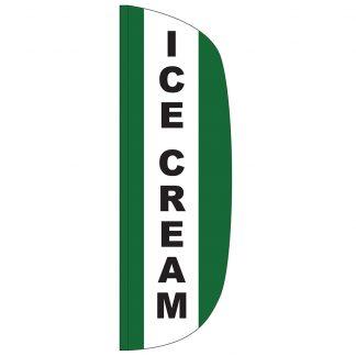 FF-L-310-ICECREAM Ice Cream 3' x 10' Flutter Feather Flag-0