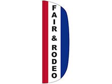 Fair & Rodeo Flutter Feather Flag