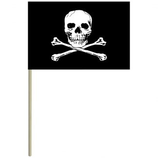 "ECM-46-JOLLYROGER Jolly Roger 4"" x 6"" Mtd Cotton-0"