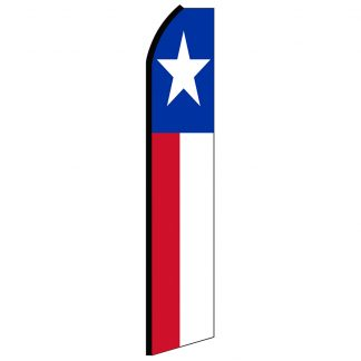 SWOOP-001 12' Digitally Printed Texas Swooper Banner-0