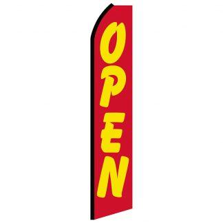 SWOOP-004 12' Digitally Printed Open Swooper Banner-0