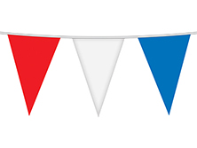 Red, White, & Blue Pennant Strings