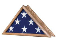 MFC-CAPT-OAK Oak Capitol Flag Case -0