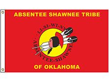 Absentee Shawnee Tribe Flag