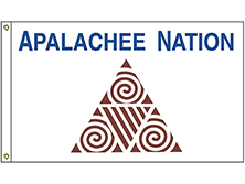 Apalachee Nation Tribe Flag