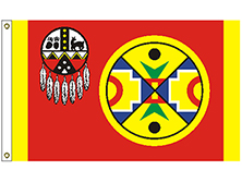 Aroostook Band of Mi'Kmaq Indians Tribe Flag