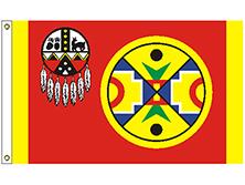 Aroostook Band of Mi'Kmaq Indians Tribe Flag