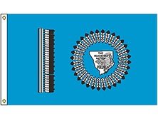 Blackfeet Nation Tribe Flag