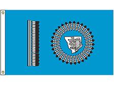 Blackfeet Nation Tribe Flag