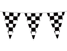 Checkered Pennant Strings