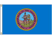 Chickasaw Tribe Flag