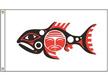 Chinook Tribe Flag