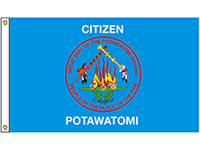Citizen Potawatomi Brigade Tribe Flag