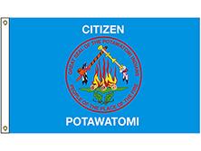Citizen Potawatomi Brigade Tribe Flag